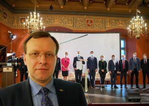 Naglis Puteikis atsisakė pasirašyti Prezidento parengtą memorandumą | Alkas.lt koliažas
