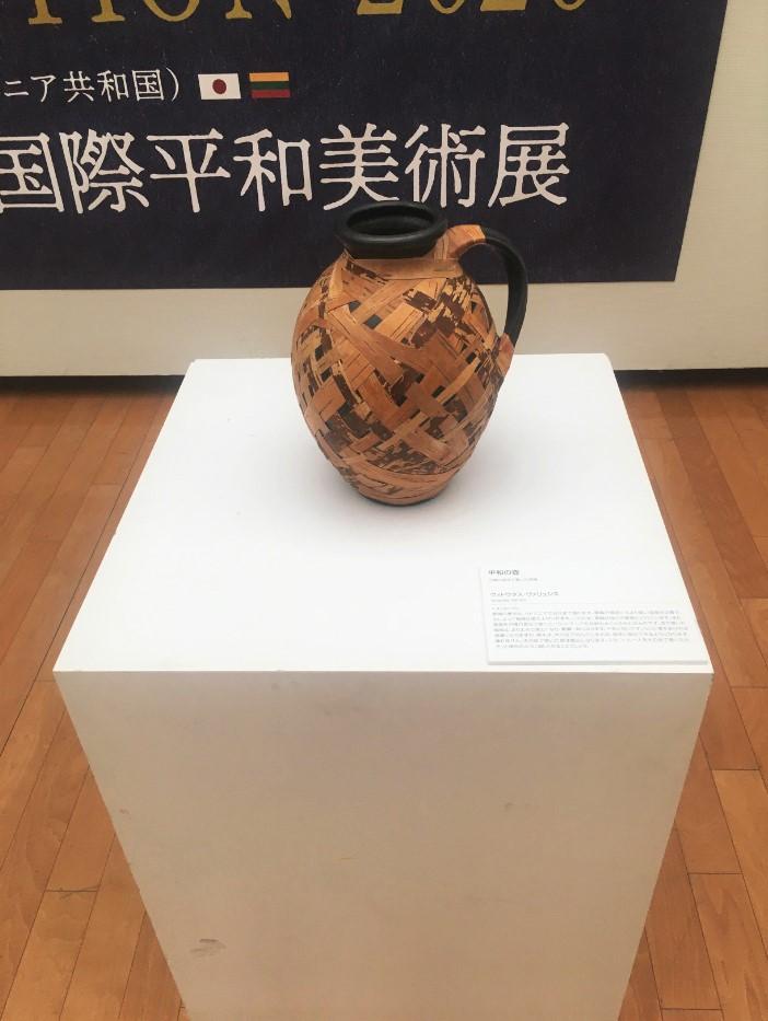 Parodoje Japonijoje eksponuojami Lietuvos tautodailininko Vytauto Valiušio darbai | Rengėjų nuotr.
