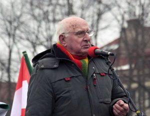 Romas Pakalnis patriotinėse Kovo 11-osios eitynėse 2018 Vilniuje | Alkas.lt, J. Vaiškūno nuotr.