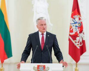 Prezidentas G. Nausėda | lrp.lt nuotr.