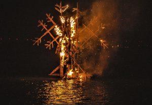 Ugnis Baltų vienybės dienai | vstt.lt nuotr.
