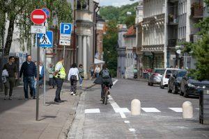 Kelio ženklas: važiuoti draudžiama | vilnius. lt nuotr.