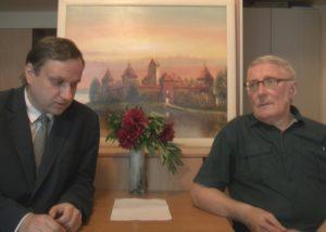 Tomas Baranauskas ir Algis Kasperavičius | Alkas.lt