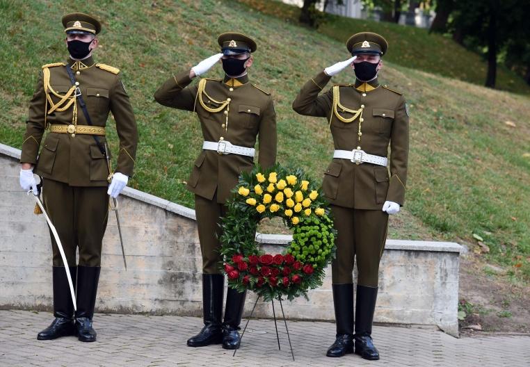 Tuskulėnų rimties parko memorialiniame komplekse pagerbtas Tuskulėnų aukų atminimas | G. Maksimovicz, KAM nuotr.