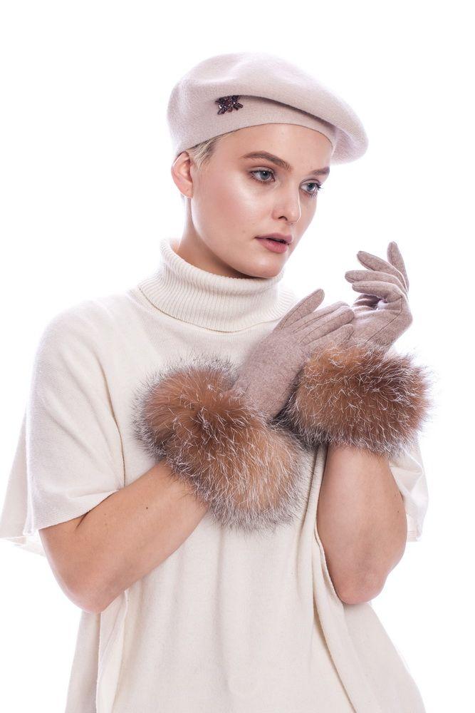 Moteriška beretė | fur.lt/kepures nuotr.