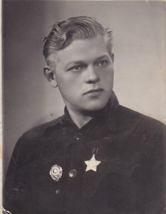 Paulius Širvys apie 1951 m. | Maironio lietuvių literatūros muziejaus fondų nuotr.