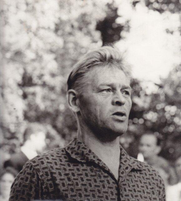 Paulius Širvys apie 1970 m. | Maironio lietuvių literatūros muziejaus fondų nuotr.