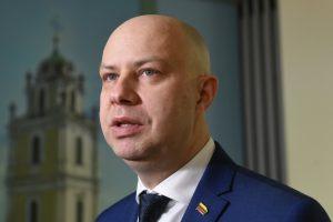 Sveikatos apsaugos ministras Aurelijus Veryga | S. Žumbio nuotr.