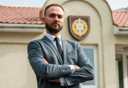 Gynybos naujovių centro vadovas Simonas Aleksandravičius | E. Genio nuotr.