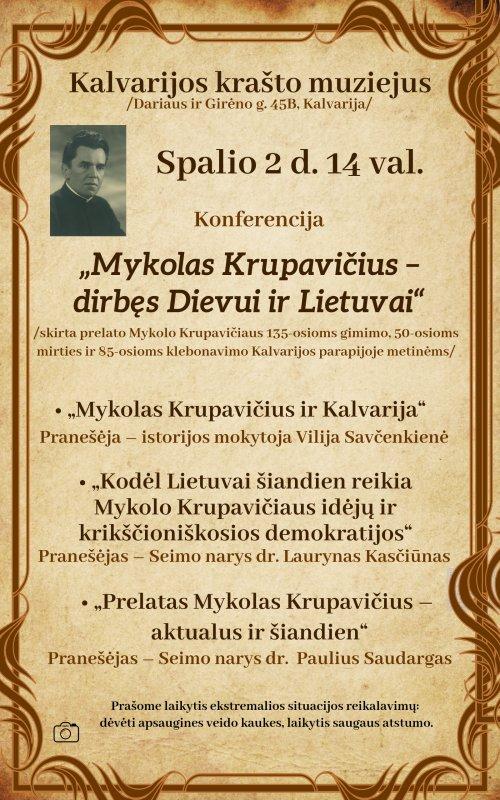 2020 10 02 Konferencija Myklas Krupavičius