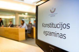 Konstitucijos egzaminas – atsinaujinęs, įdomus, nuotolinis | V. Skaraitis, Fotobanko nuotr.