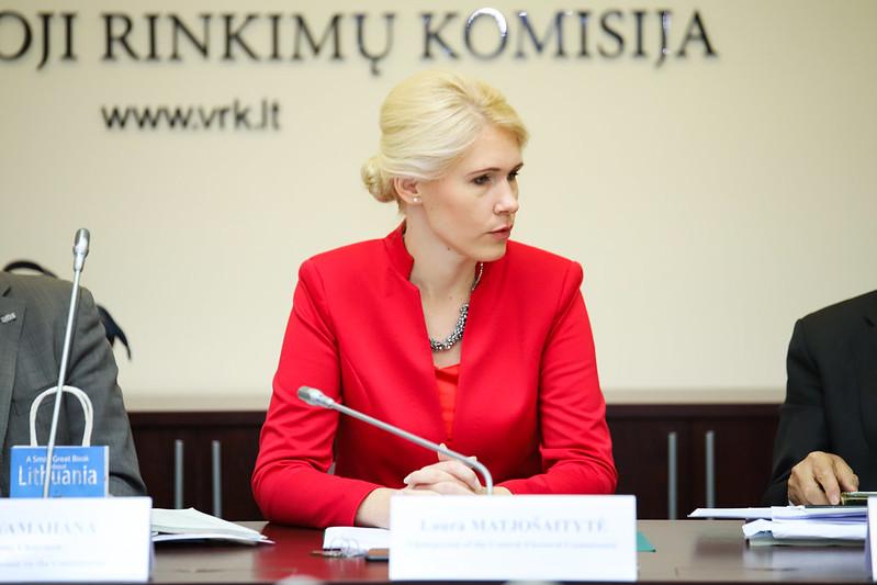 VRK pirmininkė Laura Matijošaitytė | VRK nuotr.
