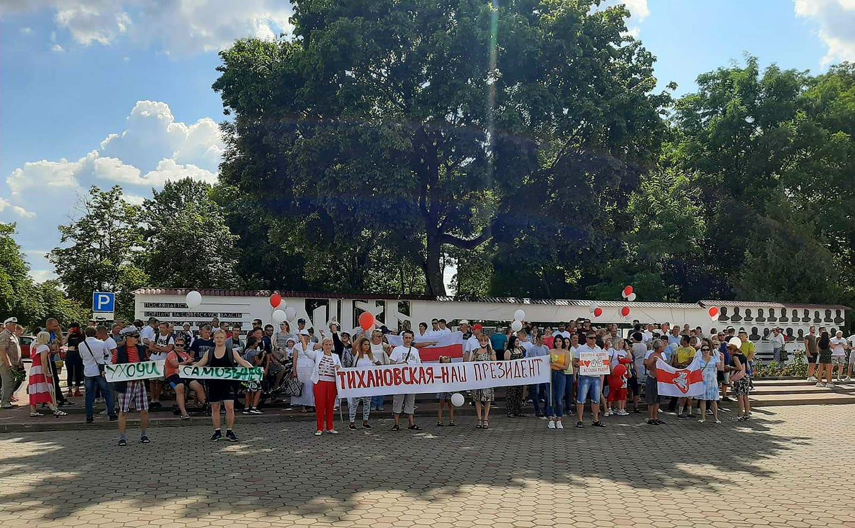 Baltarusijoje protesto mitingai prieš A.Lukašenkos režimą | rengėjų nuotr.