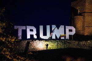 Vilniuje surengta JAV prezidento D. Trampo politikos palaikymo akcija   Alkas.lt, K. Tamašausko nuotr.