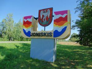 Joniškis, miesto ženklas | wikipedija.org nuotr.