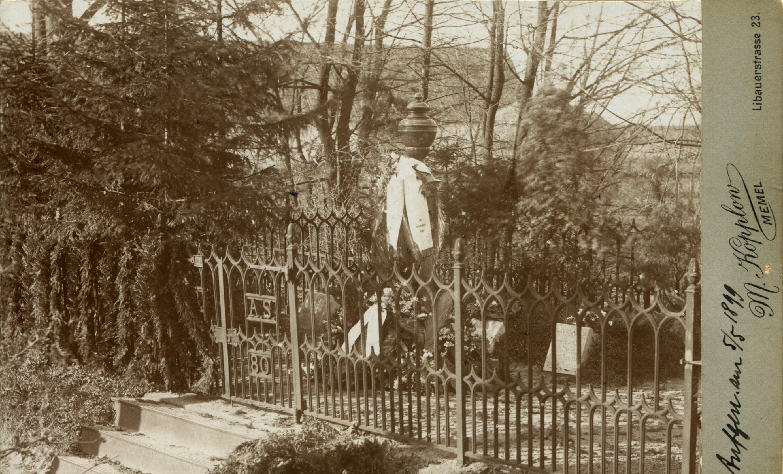Miesto kapinės prieš karą. | Vyt. Tamošiūno asmeninio archyvo nuotr.