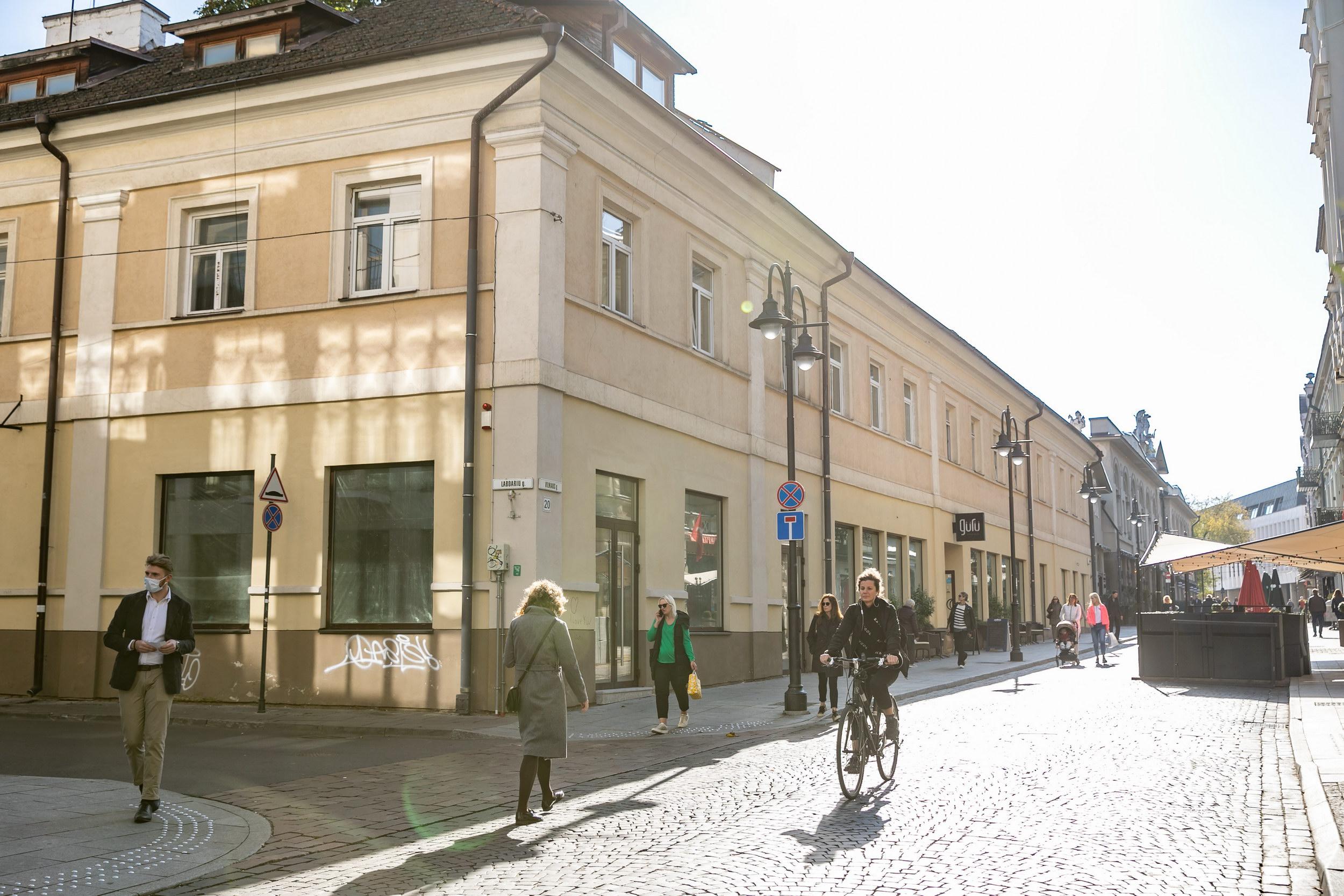 Baltarusiai nuo šiol turės erdvę Vilniuje, kur telksis bendruomenė, vyks parodos | Vilniaus miesto savivaldybės nuotr.