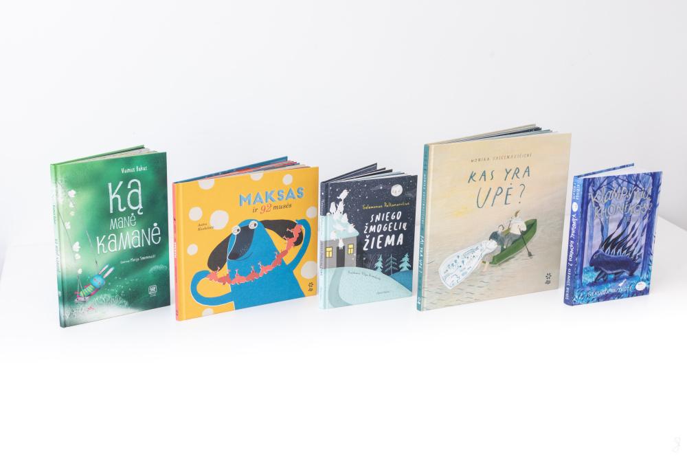 Vaikų knygos | Lietuvos nacionalinės Martyno Mažvydo bibliotekos nuotr.