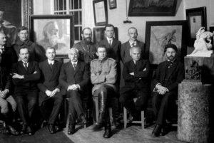 Valstybės archeologijos komisija. 1919-1925m. | Lietuvos valstybės centrinio archyvo nuotr.