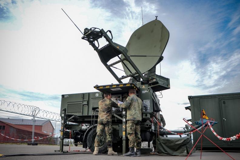 Šiauliuose įkurdintas Vokietijos valdymo ir pranešimų centras sustiprins Baltijos šalių oro erdvės valdymo stebėseną   Vokietijos kariuomenės nuotr.