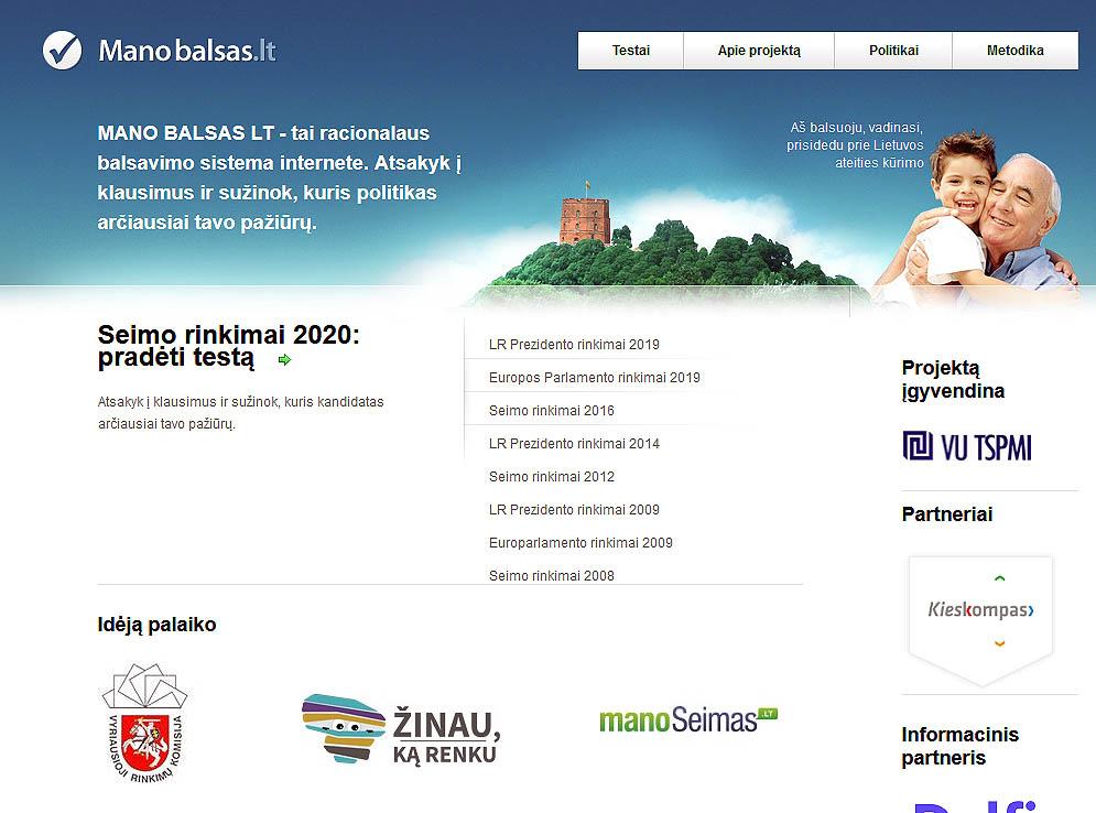 www.manobalsas.lt   Alkas.lt ekrano nuotr.