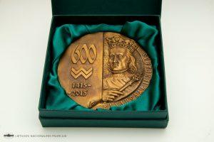 Medalis, skirtas Odesos įkūrimo 600-mečiui. 2015. Dail. Oleksandras Kovalis. Bronza, liejimas, skersmuo 132 mm. | L. Penek, Lietuvos nacionalinio muziejaus nuotr.