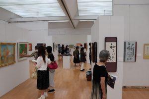 Pasaulio taikai skirtoje parodoje – Japonijos ir Lietuvos menininkų darbai | Lietuvos nacionalinio kultūros centro nuotr.