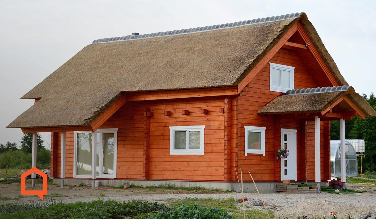 Kaip išsirinkti rąstinį namą? | meistronamai.lt nuotr.