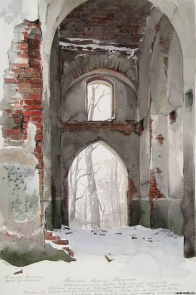 Romano Borisovo akvarelė | Asmeninė nuotr.