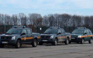 Aplinkosaugininkų automobiliai | am.lt nuotr.