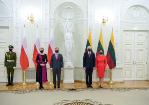 Lietuvos ir Lenkijos Prezidentų susitikimas | prezidentas.lt nuotr.