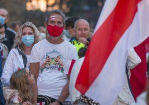Protestai Gudijoje   vrm.lrv.lt nuotr.