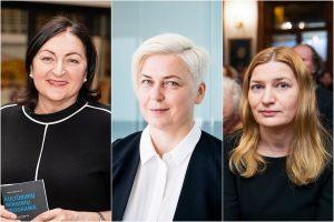 Lolita Varanavičienė, Laima Kreivytė, Giedrė Kazlauskaitė | J. Stacevičiaus, LRT nuotr. fotokoliažas