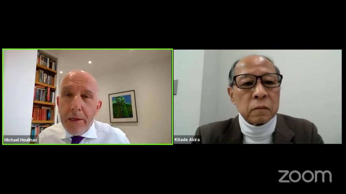 Pokalbis su žinomu japonų rašytoju, buvusiu diplomatu Akira Kitade | urm.lt nuotr.