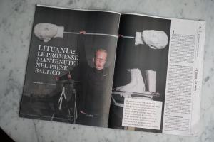 """Lietuvos meno apžvalga Italijos kultūros leidinyje """"Artribune""""   urm.lt nuotr."""