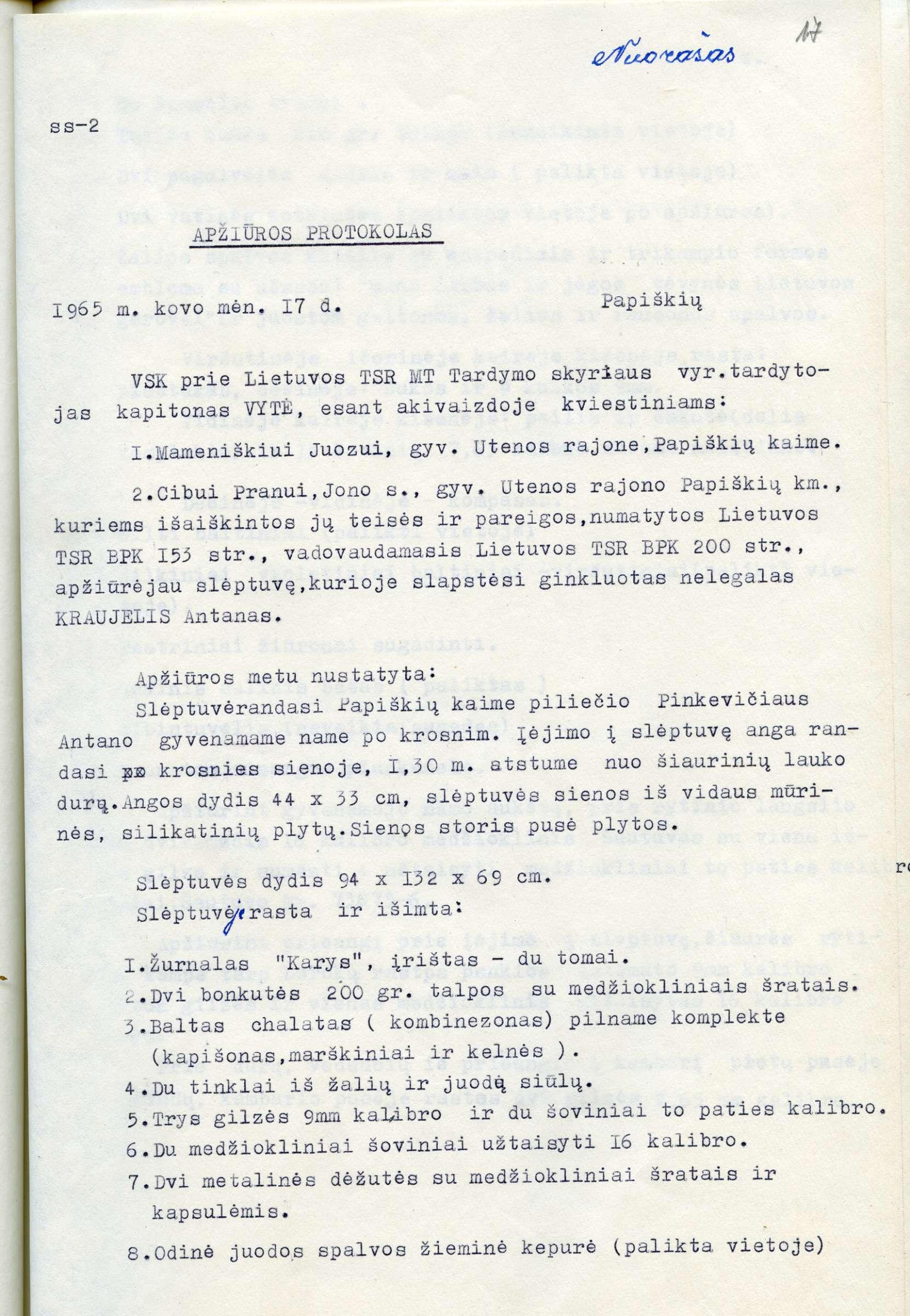 Kraujelis -KGB išmatavimai-2400