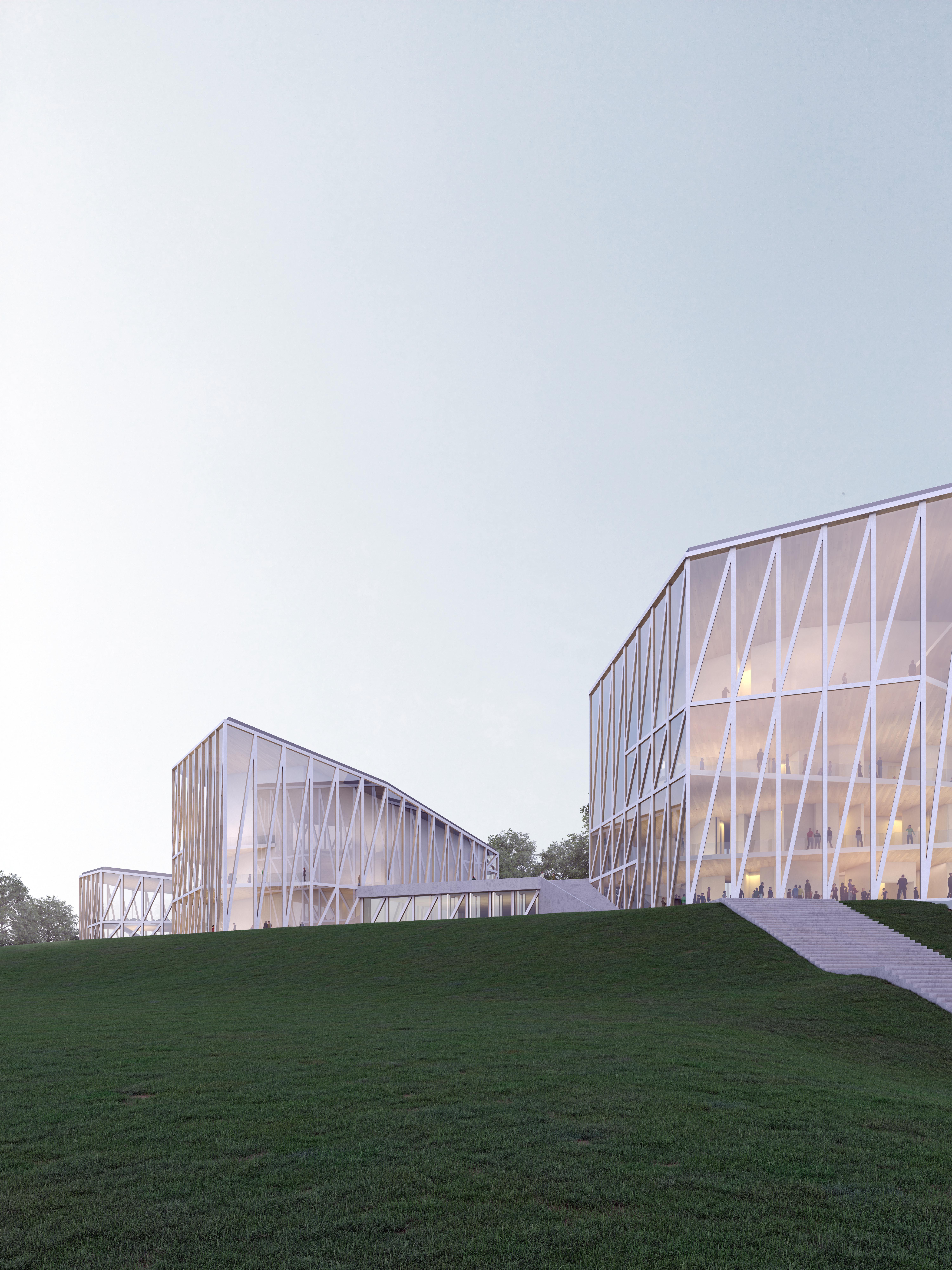 Nacionalinės koncertų salės vaizdas iš lauko   Vilniaus miesto savivaldybės nuotr.