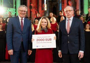 2020-03-12 Vilniaus universitete apdovanota Baltijos rektorių stipendijos varžytuvių nugalėtoja | vu.lt nuotr.