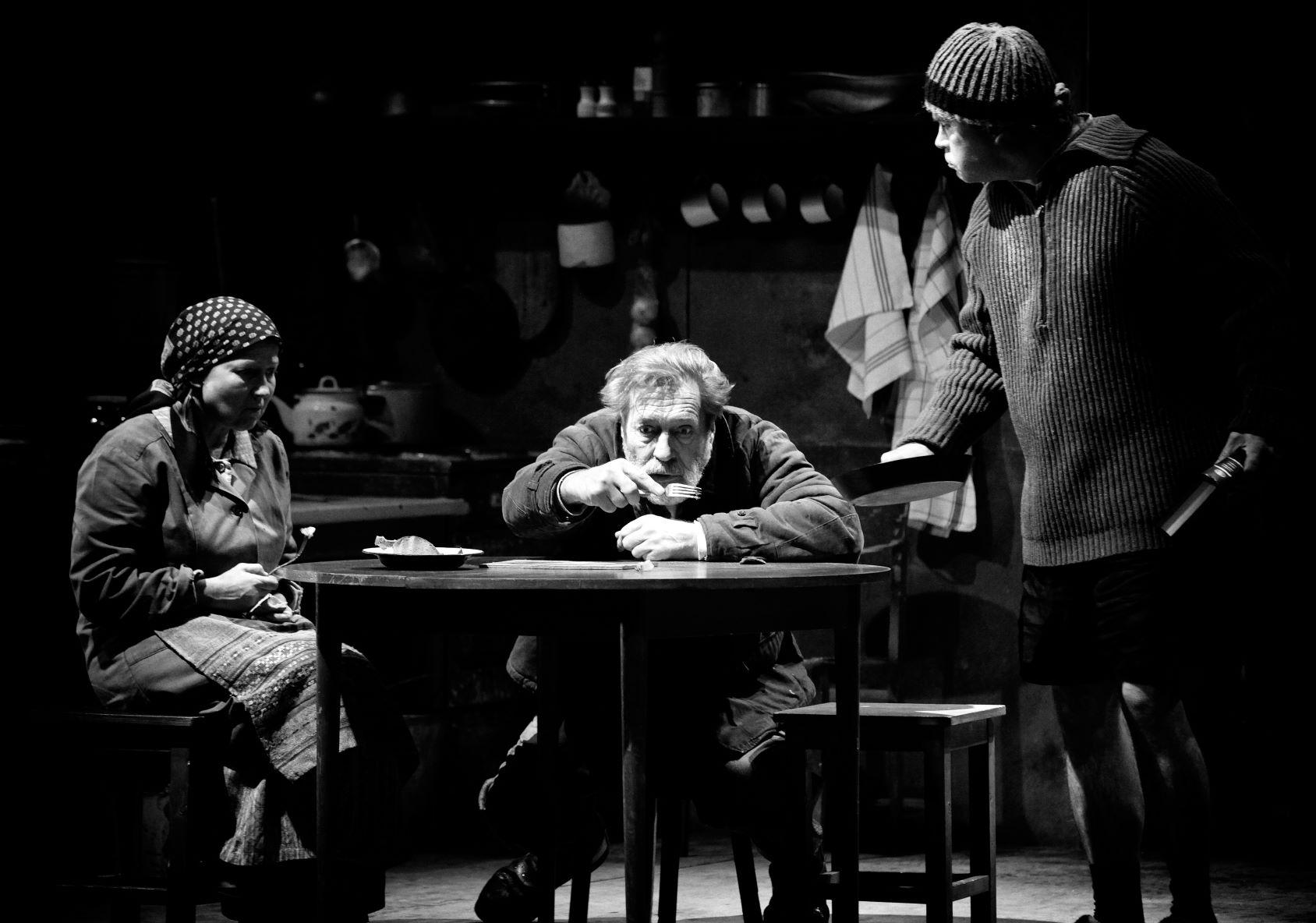 Paulavicius spektaklyje Hanana-miltinio teatro nuotr