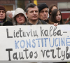 Piketas uz lietuviu kalba-respublika.lt nuotr