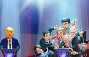 Rinkimai JAV | valstietis.lt asociatyvus piešinys