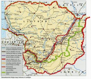 SF4334 Demarkacines linijos tarp Lietuvos ir Lenkijos
