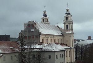 Vilniaus Šv. arkangelo Rapolo bažnyčios tvarkymo darbai | KIC nuotr.