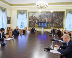 Susitikimas Prezidentūroje | prezidentas.lt nuotr.