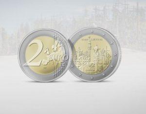 Proginė moneta garsins išskirtinę Lietuvos vietą – Kryžių kalną   lb.lt nuotr.