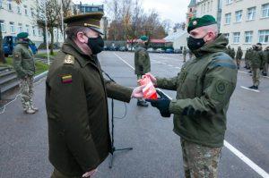 Karo akademijoje paminėta Lietuvos kariuomenės diena   E. Genio nuotr.