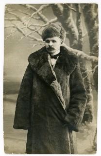Antanas Jaroševičius. 1906 m. | Giedraičių mokyklos muziejaus nuotr.