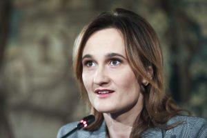 Liberalų sąjudžio pirmininkė Viktorija Čmilytė-Nielsen   Mariaus Morkevičiaus nuotr.