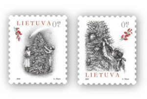 Šventiniuose pašto ženkluose – vaikystės prisiminimai apie Kalėdų laukimą | Lietuvos pašto nuotr.