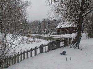 2020 m. gruodis Puvočių kaime | N. Marcinkevičienės nuotrauka